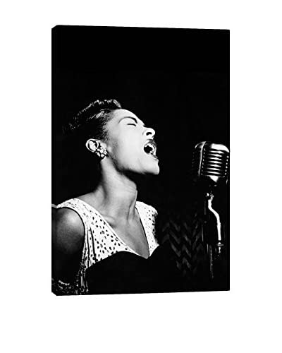 Retro Images Billie Holiday #2 Archive Gallery-Wrapped Canvas Print