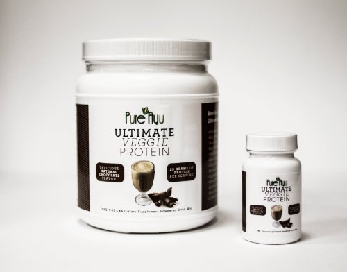 Pure Ayu Veggie Protein (Chocolate, Travel)