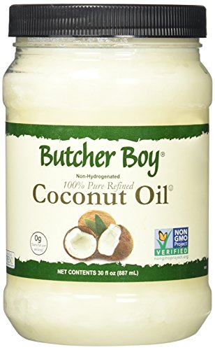Butcher Boy Coconut Oil - 30 Ounce - 100% Pure Refined - 76 Degree (Hydrogenated Oil compare prices)