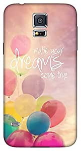 Generic Back Case Cover for Samsung Galaxy S5 (Multicolor)