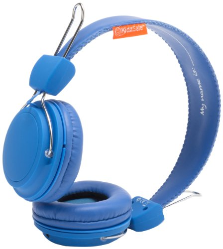 Sms Audio Ks-2013-Bdiy-Roh Kidzsafe Boys Diy Headphones - Blue
