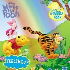 Winnie the Pooh Bath Time Bubble Book (Toys) Characters may vary - 1
