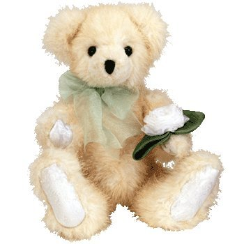 Ty Attic Treasure - Karena the Peach Bear - - 1