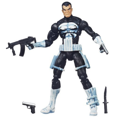 Marvel Universe Punisher Figure 3.75 Inches by Hasbro TOY (English Manual)