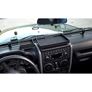 Rugged Ridge 13551.10 Dash Organizer for Jeep Wrangler JK 2007 Up