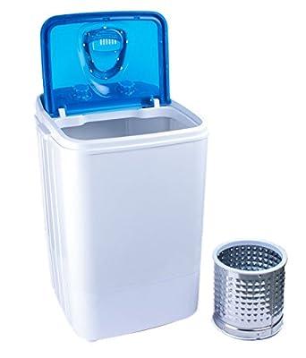DMR 46-1218 Single Tub Washing Machine with Steel Dryer Basket (4.6 kg, Blue)