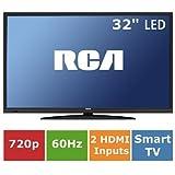 "RCA 32"" 720p 60Hz LED HDTV/DVD Combo with ROKU Streaming LRK32G30RQD"