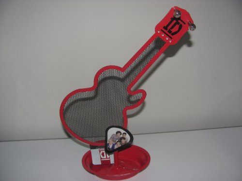 1d One Direction Jewelry Holder Organizer with Hooks Guitar Shape (One Direction Guitar Accessories compare prices)