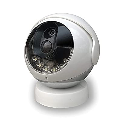 Kidde RemoteLync Cordless Wireless Security Camera, White