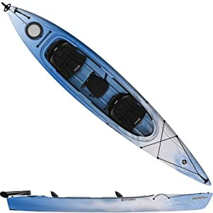 Buy Perception Prodigy II 14.5 Tandem Kayak with Rudder by Perception