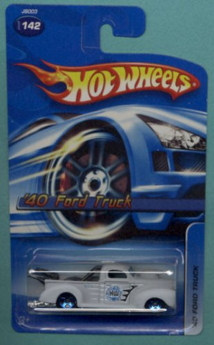 Hot Wheels 2006 #142 Gray 1940 Ford Truck - 1