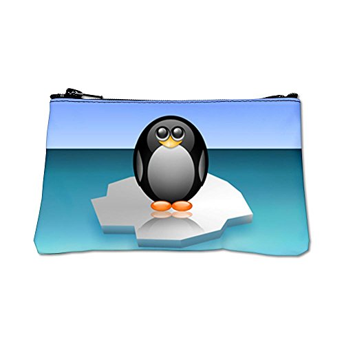 Royal Lion Cute Baby Penguin White Coin Purse