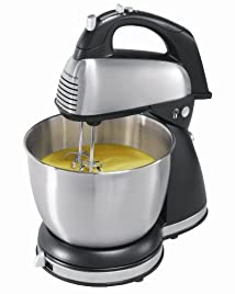Hamilton Beach 64650 6-Speed Classic Stand Mixer Stainless Steel