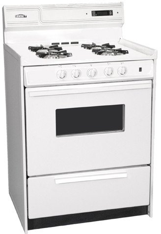 """Snm6307Ckw 24"""" Freestanding Gas Range With 4"""
