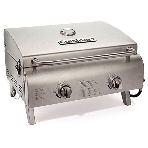 Cuisinart CGG-306 Chefs Style Stainless Tabletop Grill