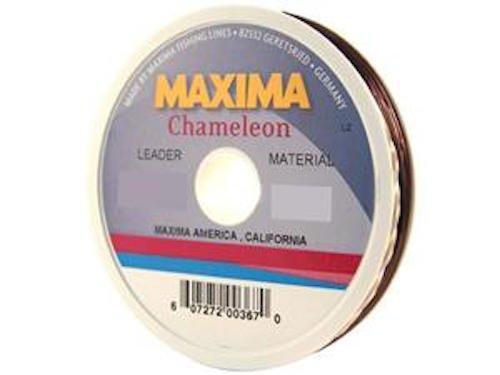 Maxima fishing line leader wheel chameleon 5 pound 27 for Maxima fishing line