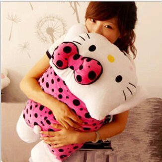 40cm-Hello-Kitty-Plush-Pillow-Soft-Plush-Cushion-Kids-Toy-Gift-for-Girls