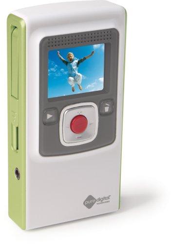 Flip Ultra Video Camera - Green, 2 GB, 60 Minutes