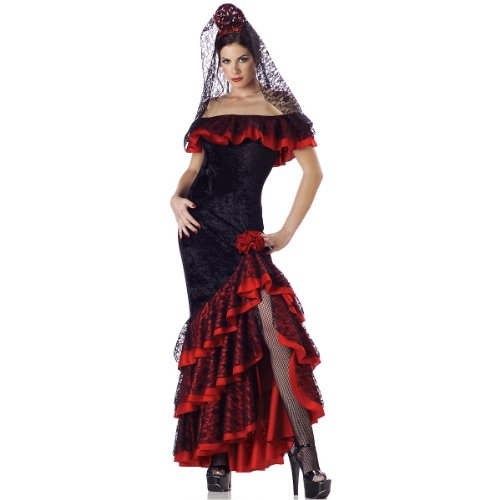 Senorita Costume - Medium - Dress Size 6-10