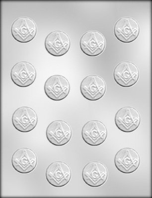 Buy MASONIC MINT CHOCOLATE MOLD