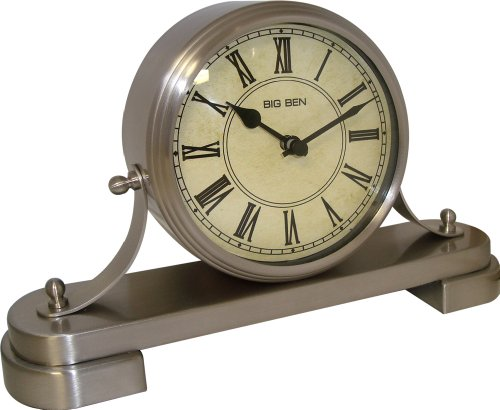 Westclox 49121 Big Ben Quartz Accuracy Vintage Design Mantle Clock