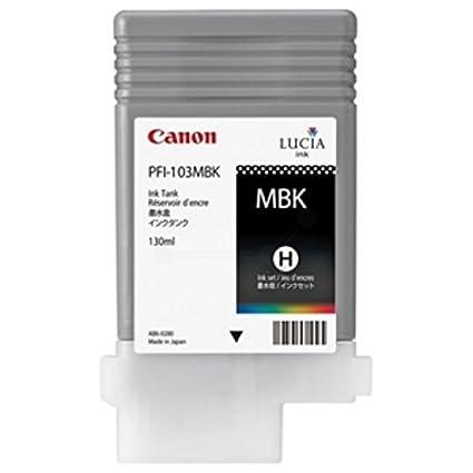 Canon 2211B001 Cartouche d'encre noir matt pour Imageprograf IPF 5100/6100/6200