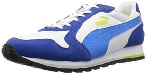 Puma ST-Runner - Caña baja de material sintético unisex, color azul, talla 42