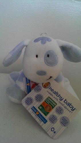 """Floppy Spotted Blue Puppy 7"""" by Kids Preferred"""
