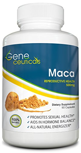 Pure Maca Reproductive Health Supplement! Non-GMO - Improves Vigor and Libido - All Natural, No Side Effects - Only for Men - 100% Satisfaction Guarantee (Cb 1 Weight Gainer Pills compare prices)