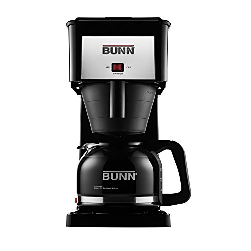 BUNN GRB Velocity Brew 10-Cup Home Coffee Brewer, Black (Bunn Pour Over Coffee Maker compare prices)