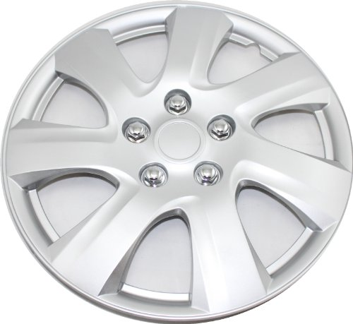 16 set of 4 hubcaps fit 2006 2011 toyota camry matrix wheel covers design are universal hub. Black Bedroom Furniture Sets. Home Design Ideas