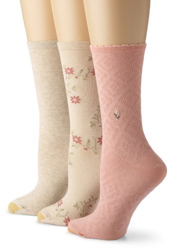 Gold Toe Women's Fashion Pack F (3-Pack)