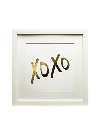 """Star Creations Gold Foil Inspirational Series XOXO, 18"""" x 18"""""""