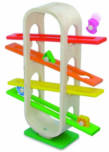 Wonderworld Rolling Rainbow Activity Toy, Natural/Red/Blue/Green/Yellow front-561261