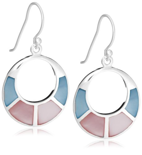 Tuscany Silver Pink Blue Mother-Of-Pearl Cut