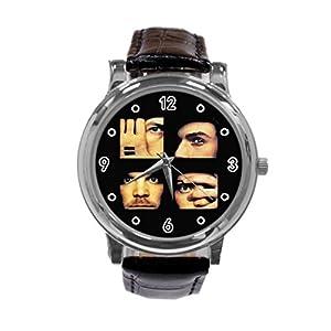 Coldplay Unique Diy Custom Photo Design Round Wrist Women Watch -S204