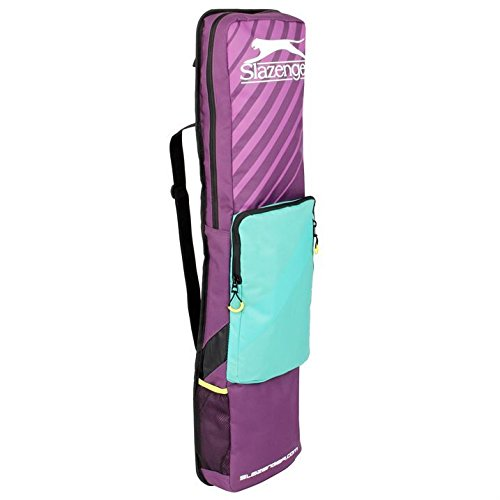 slazenger-classic-stick-bag-hockey-playing-training-sports-accessories-purple-teal-one-size