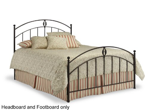 iron brass bed grand sales king size metal headboard and footboard bellamy transitional in. Black Bedroom Furniture Sets. Home Design Ideas