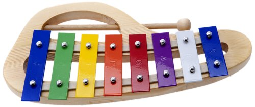 DLuca TH8C 8 Notes Rainbow Xylophone Glockenspiels