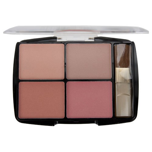Body Collection 4 Colour Blusher Palette - English Rose