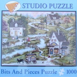 1000pc. Sunrise Bakery Studio Puzzle