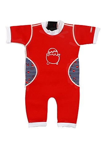 Baby Thermal Warmiebabes Swim Suit (6-12 Months, Red / Sailor) (Thermal Swimsuit For Baby compare prices)