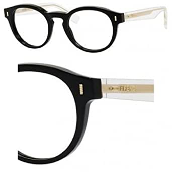 Fendi Eyeglass Frames With Crystals : image unavailable image not available for color sorry this ...