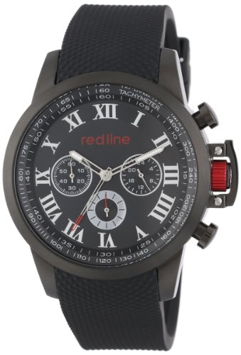 Red Line Ignite 60053 46mm Stainless Steel Case Rubber Mineral Men's Watch