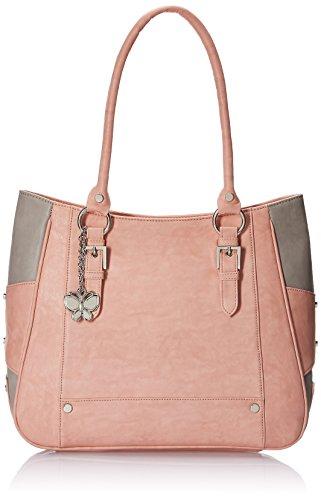 Butterflies-Womens-Handbag-Peach-BNS-0546-PCH