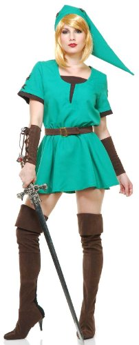 Princess Link the Elf Warrior Adult Costume
