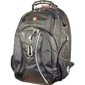"Swissgear Laptop School Backpack - Scansmart Technology - Up to 17"" Laptop - Notebook - Netbook"