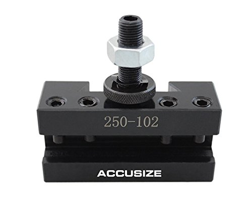 Accusize Tools - 1AXA Boring Turning and Facing Holder, Quick Change Tool Holder, #0250-0102