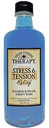 Village Naturals Therapy Liquid Mineral Bath Stress and