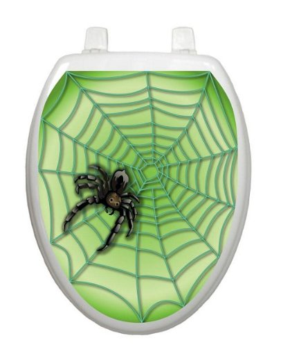 Spider Web Toilet Tattoo
